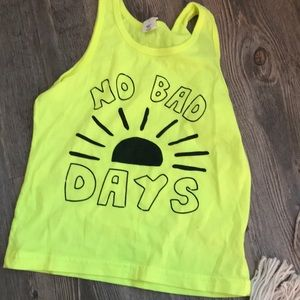 """Other - Tank top """"no bad days"""""""